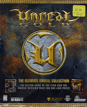 Unreal Gold (1999) PC | RePack